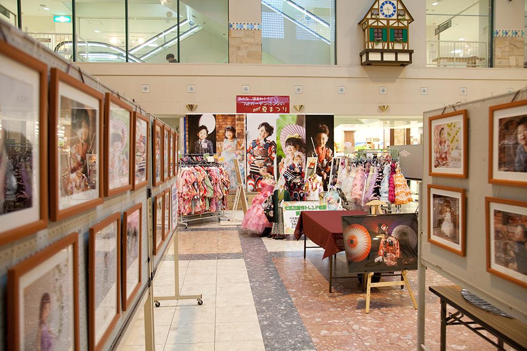 ベルシャイン駒ヶ根店にて七五三衣装展示会を開催!