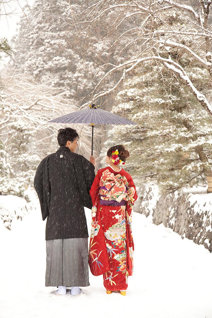 フォトウェディング 〜冬に暖かい思い出作り〜