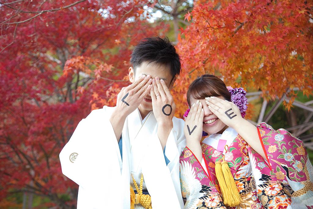 和装で残す 写婚式(フォトウェディング)